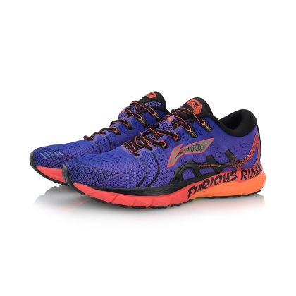 Male Stability Running Shoes, Liberty/Ice Orange
