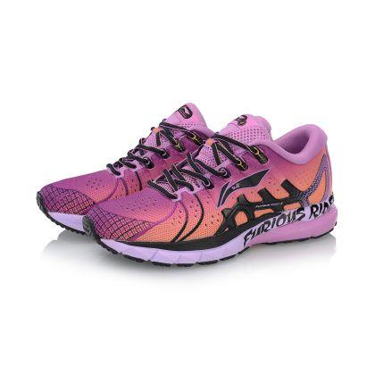 Female Stability Running Shoes, Lavender/Standard Black