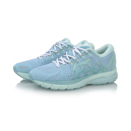 Female Stability Running Shoes, New Blue Glow/Soft Blue