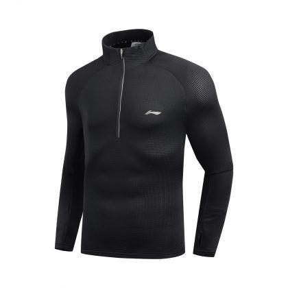 Jogger Male L/S top, Standard Black