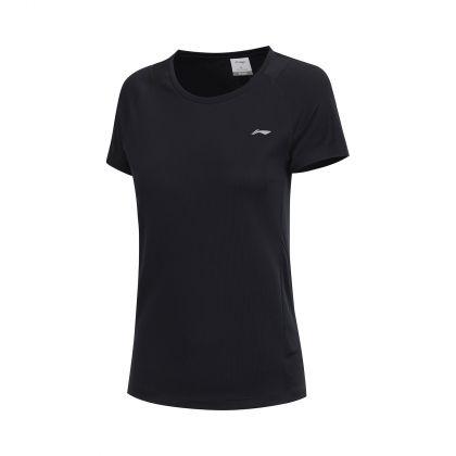 Hobby Runners Female S/S Tee, Standard Black