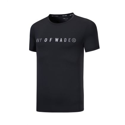 Wade Male S/S Top, Standard Black