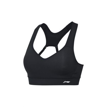 Gym Female Sports Bra, Standard Black