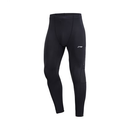 Road Running Male Layer Pants, Standard Black