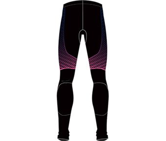 Hobby Runners Male Layer Pants, Standard Black Allover Print