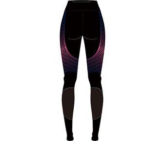 Hobby Runners Female Layer Pants, Standard Black Allover Print