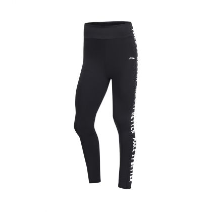 Gym Female Layer Pants, Standard Black