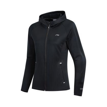 Jogger Female Sweat Top, Standard Black