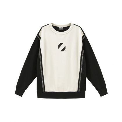 Basketball Culture Female PO Knit Top, Pearl White/Standard Black