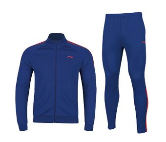 Training Male Fz Knit Top Suit, Deep Blue