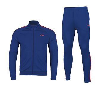 Training Female Fz Knit Top Suit, Deep Blue