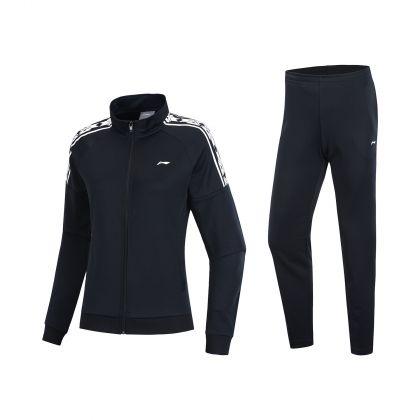 Training Female Fz Knit Top Suit, Standard Black