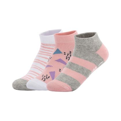 The Trend Female Footie, Greypink/Pinkwhite /Whitegrey, 1