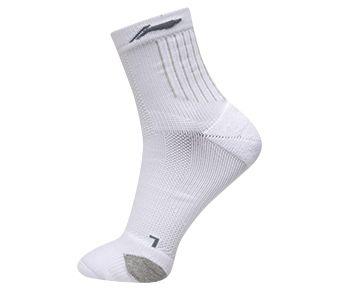 Essentials Male Mid Cut, White/Gray