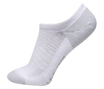 Essentials Unisex Ankle Socks, White/Gray