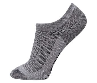 Essentials Unisex Ankle Socks, Gray