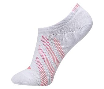 The Trend Female Ankle Socks, White/Pink
