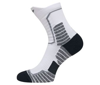 Professional Basketball Mid Cut, White/Black