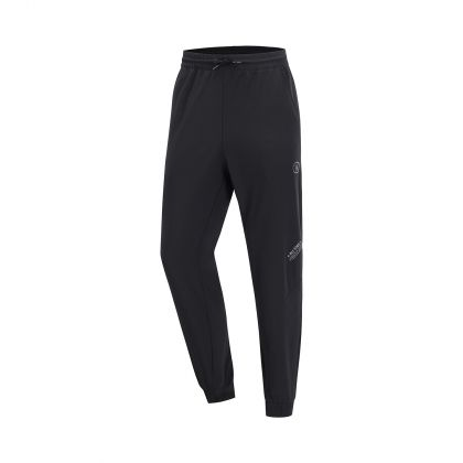 Wade Male Track Pants, Standard Black