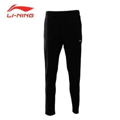 Male Track Pants, Standard Black