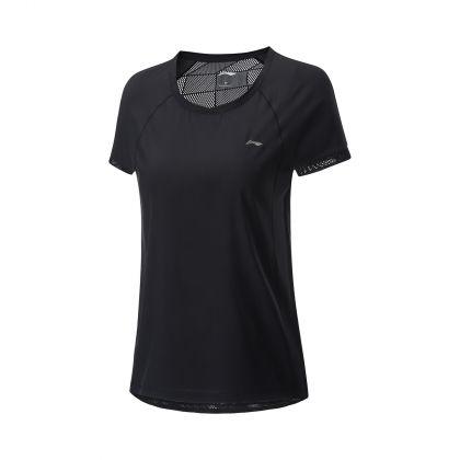 Hobby Runners Female S/S Top, Standard Black