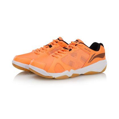 Male Badminton Training Shoes, Flashing Orange/Standard Black