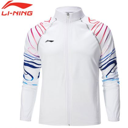 Male Track Top, Standard White