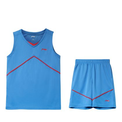 Basketball Boy Competition Uniform Suit, New French Blue/New French Blue