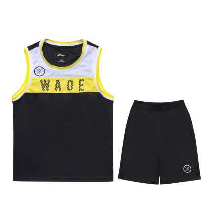Wade Boy Competition Uniform Suit, Standard Black/Standard Black