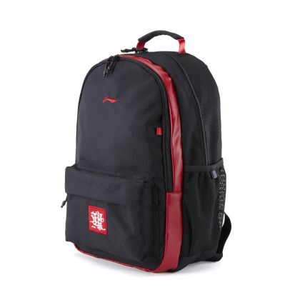 New Year Boy Backpack, Black/Red