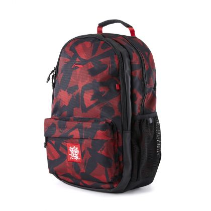 New Year Boy Backpack, Red Printing