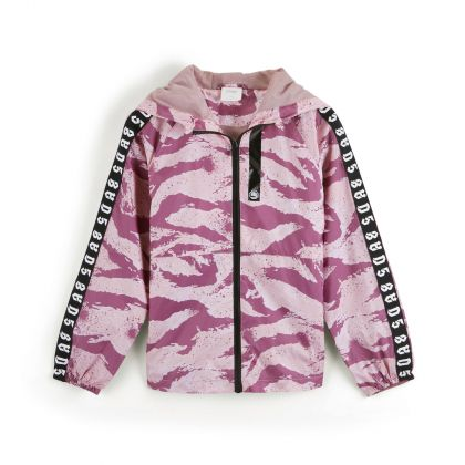 Bad5 Girl Windbreaker, Mesa Rose Printing