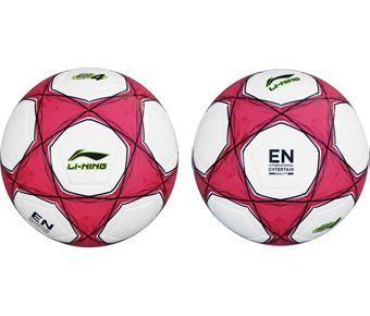 Soccer, White/Fluorescence Red/Red/Black/Flashing Bright Green