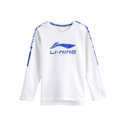 Sports Life Boy L/S tee, Milk White