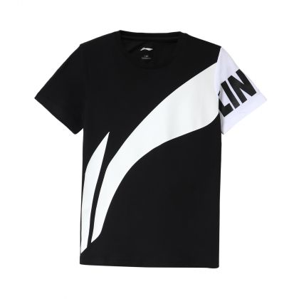 Basketball Boy S/S Tee, Standard Black
