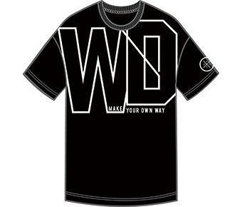 Wade Boy S/S Tee, Standard Black