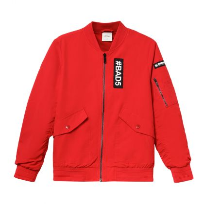 Badfive Boy Jacket, Cinnabar Red