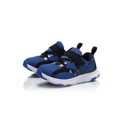 Sports Life Boy Li-Ning Kids Sport Shoes, Crystal Blue/Standard Black/Standard White