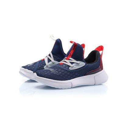 Sports Life Boy Li-ning Young Lifestyle Shoes, Nany Green Blue/Li-Ning Red
