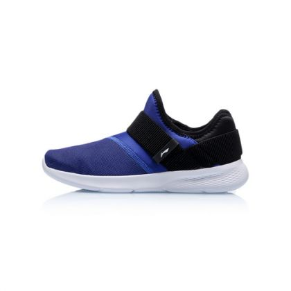 Sports Life Boy Li-Ning Young Lifestyle Shoes, Deep Blue/Standard Black