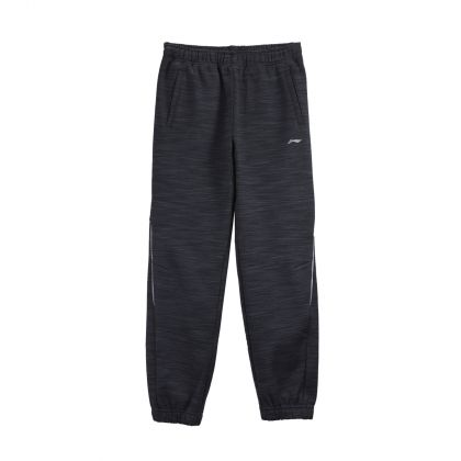 Training Boy Sweat Pants, Heather White-Black