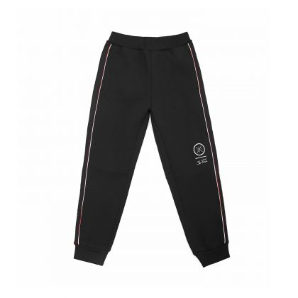 Wade Boy Sweat Pants, Standard Black
