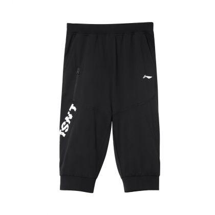 Sports Life Boy 3/4 Sweat Pants, Standard Black