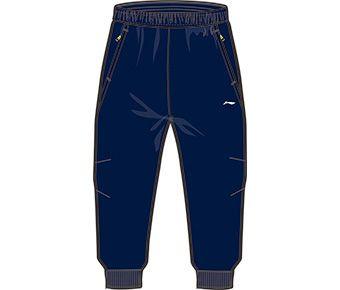 Running Boy 3/4 Track Pants, Deep Blue