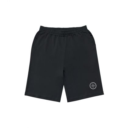 Wade Boy Sweat Shorts, Standard Black