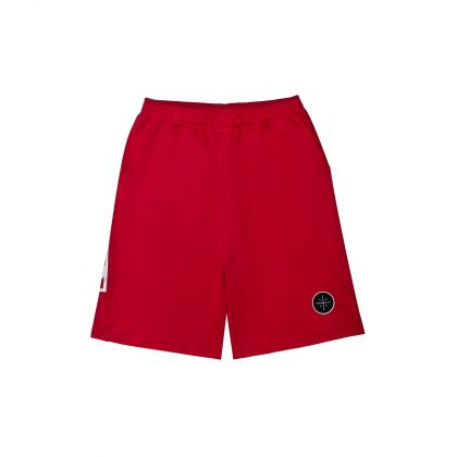 Wade Boy Sweat Shorts, Bulls Red