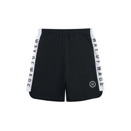 Wade Boy Track Shorts, Standard Black