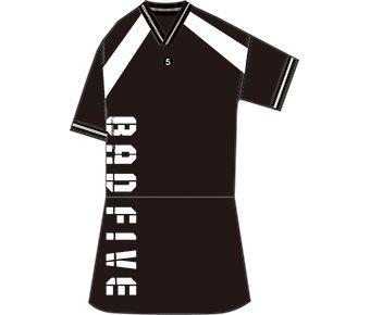 Bad5 Girl Skirt, Standard Black