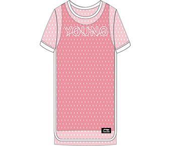 Basketball Girl Skirt, Pink