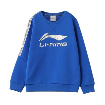 Sports Life Boy PO Knit Top, Crystal Blue